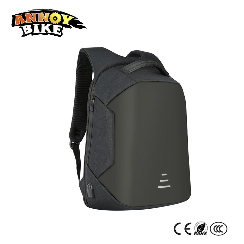 09c3753222 Acquista City Computer Bag Outdoor Urban Zaini Antifurto Impermeabili  Multifunzione USB Ricarica Uomini 16 '' Laptop Bicicletta Elettrica A  $88.62 Dal ...