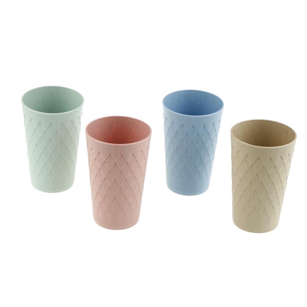 Eco-friendly Japanese-style Thick Circular Cups Toothbrush Holder ...