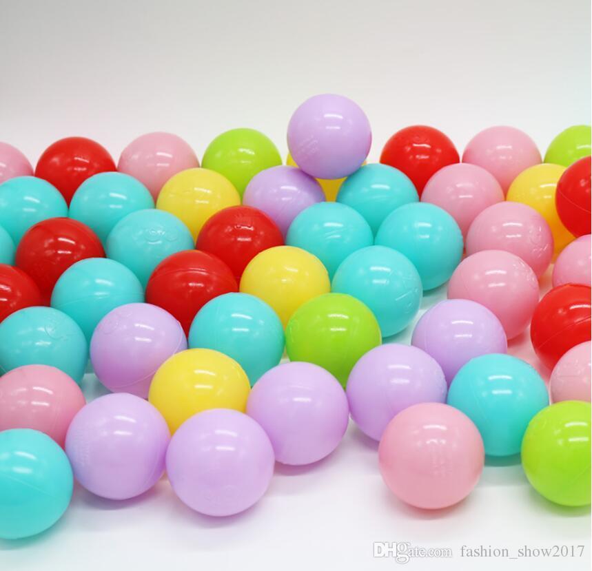 حار الإجهاد الكرة صديقة للبيئة الملونة لينة البلاستيك بركة مياه المحيط الموجة الكرة الطفل مضحك لعب في الهواء
