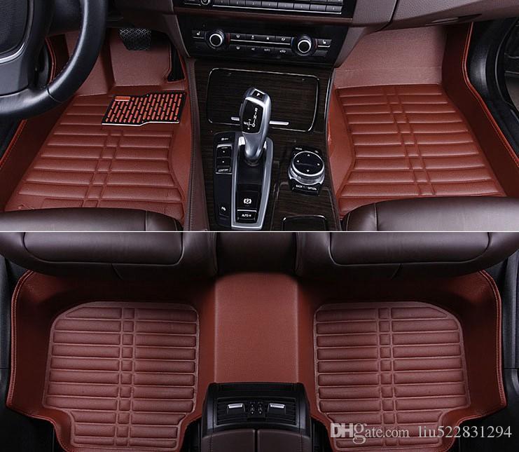 Zesfor Tapis auto en cuir X5/E70