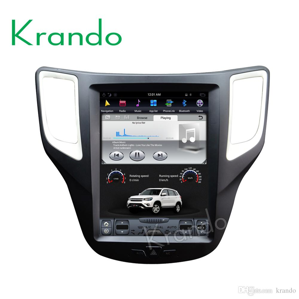 "Krando Android 7.1 10.4"" Vertical screen car dvd radio player gps for Changan CS35 gps navigation entertainment multimedia player buletooth"
