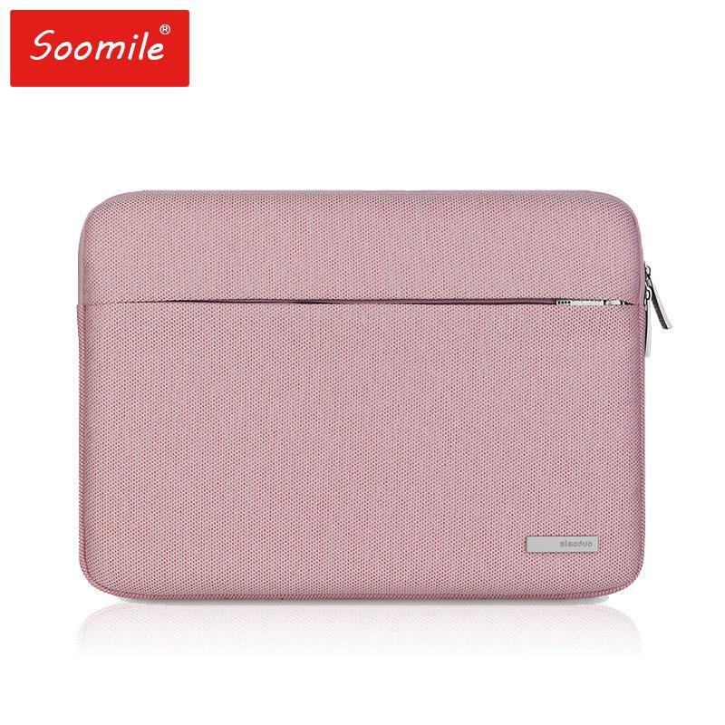 d0e8a6e666c Fashion Women Handbag Laptop Bag 15 14 13 12 11.6 Inch Briefcases Shoulder  Messenger Bag For Macbook Air Pro Computer Sleeve Leather Briefcase Satchel  Bags ...