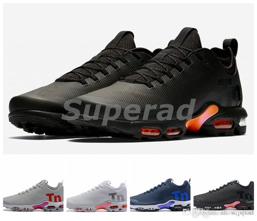 watch 62bb1 88601 Compre A Estrenar Mercurial TN Mujer Hombre Zapatillas Zapatillas Negro  Blanco Naranja Azul Marino Deporte Tenis Chaussures Tns Zapatos 36 46 A   90.92 Del ...