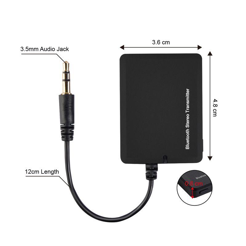 Acheter Transmetteur Bluetooth Sans Fil Audio 35mm A2dp Double