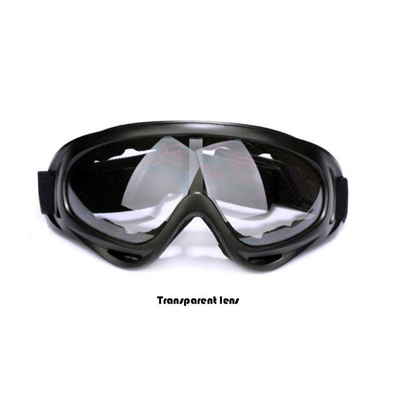 X400 UV Táctico Bicicleta Gafas de Esquí Esquí Patinaje Gafas de sol Gafas de sol A Prueba de Viento A prueba de polvo Con Correa elástica Ciclismo Gafas A365