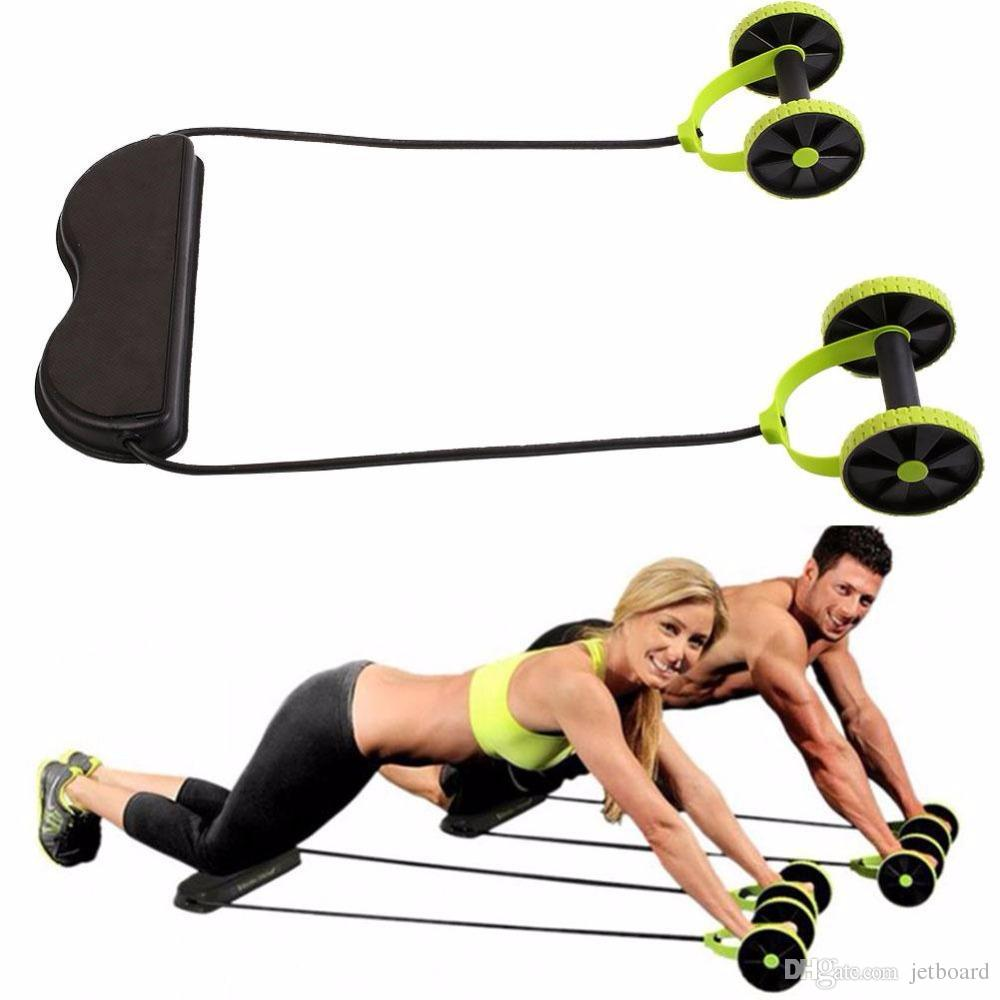 0706c741d7f Home Gyms Multifunctional Exercise Home Fitness Equipment Intensity  Adjustable Abdominal Wheel Resistance Pull Rope Muscle Power Online with   42.29 Piece on ...