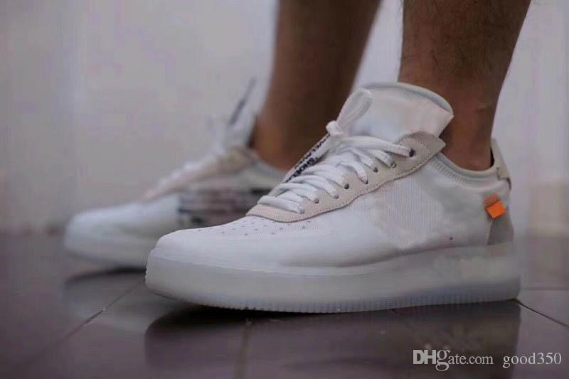 Acheter 2018 Off White X Nike Air Force 1 Low Nouvelle Arrivée Hommes Blanc  1 Chaussures De Course Femmes Mode Sport Sneakers En Plein Air Forces  Casual ... 9a62affc3a87