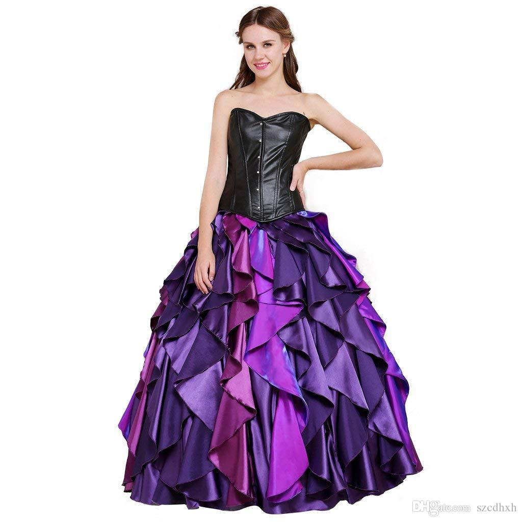 7715e82b7 Women'S Dress For The Little Mermaid Sea Witch Ursula Cosplay ...