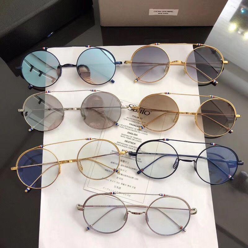 6acbe24f9f63 Vintage Fashion Sunglasses Thom Browne TBX910 Women Man Brand Design Suqare  Original Box And Case Polarized Lens Top Quality Victoria Beckham Sunglasses  ...