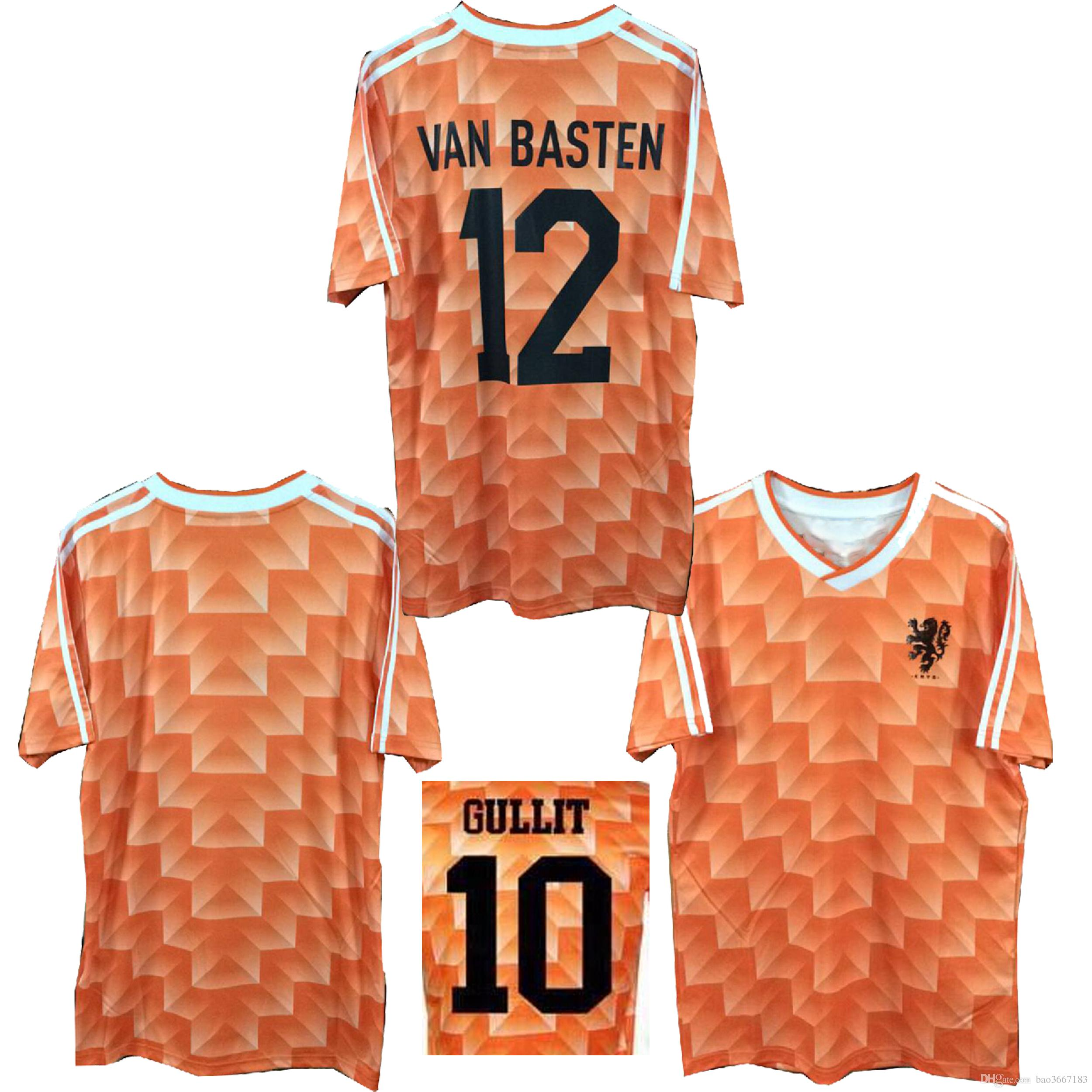 new concept 1c4e1 9665a 1988 World Cup Netherlands Soccer Jerseys 1988 World Cup Netherlands Retro  Soccer Jerseys 1998 World Cup Netherlands Retro football shirts