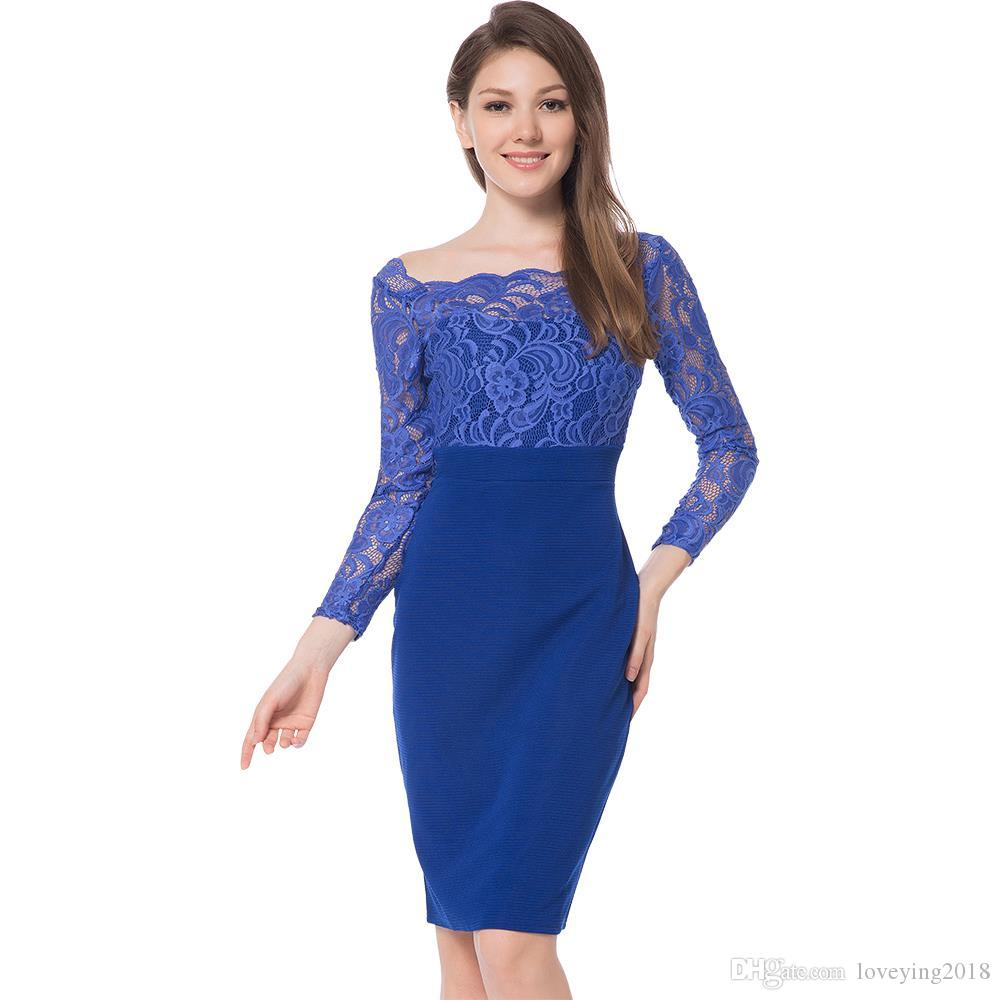 Royal Blue Cocktail Dresses For Wedding Raveitsafe
