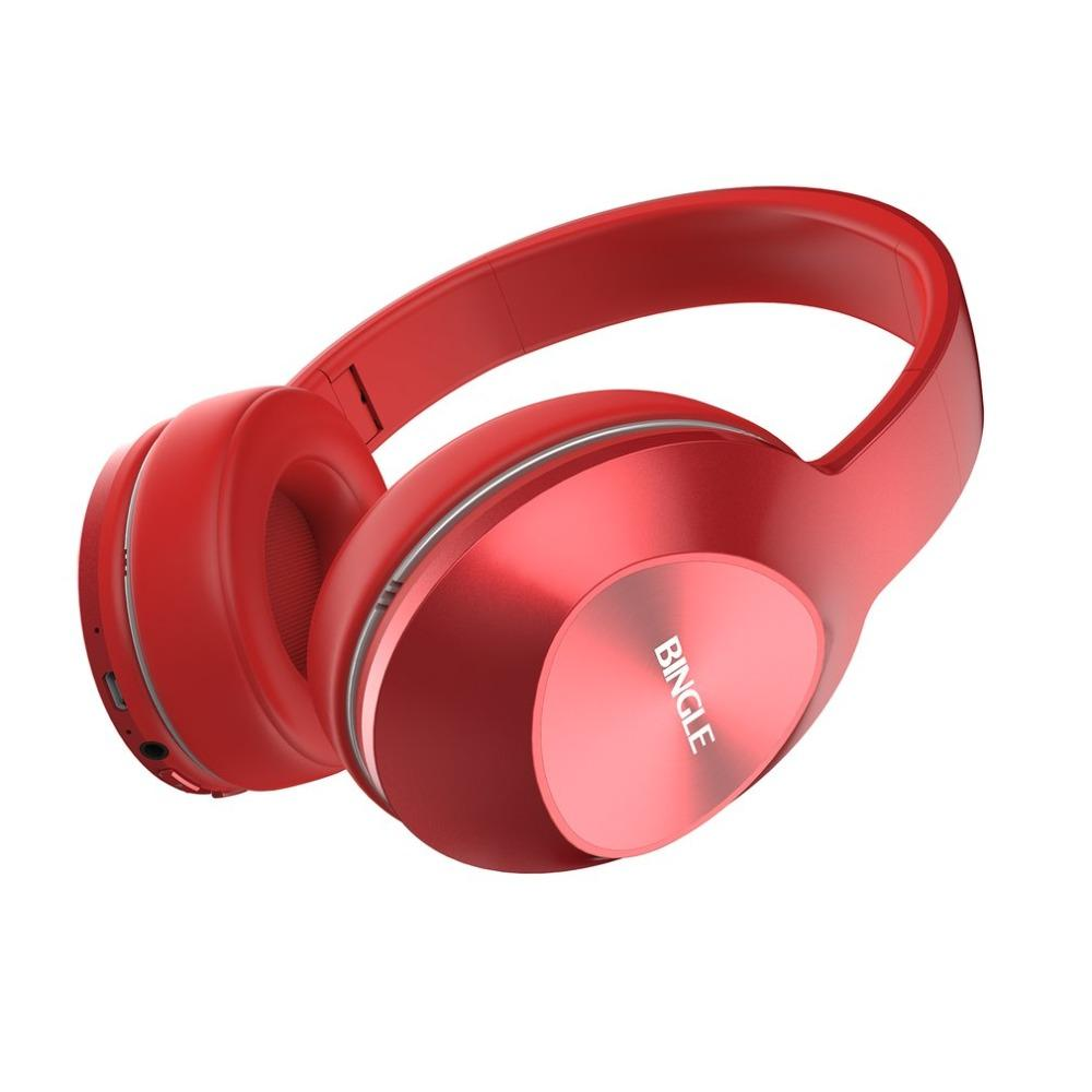 Bingle Fashionable Design Lightweight Wireless Bluetooth Headphone Wear  Comfort Music Playing Headset With Microphone Best Wireless Headphones  Bluetooth ... 7d97eee57ef5b
