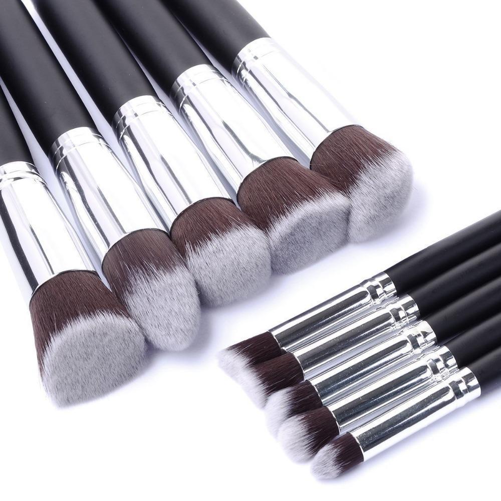2017superior Professional Soft Cosmetic Make Up Brush Set Womans Kuas Mascara Naked Toiletry Kit Beauty Makeup Brushes Kabuki Blush Borstels Eyebrow Foundation