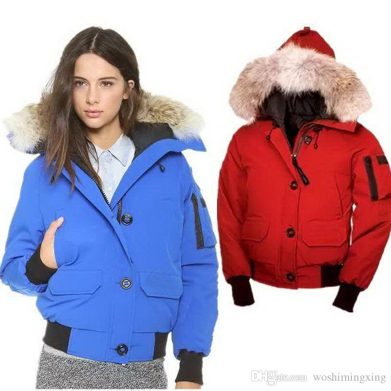 429dfdae4ee 2019 Women Outdoors Fur Down Jacket Thick Warm Windproof PBI Goose Down Coat  Thicken Fourrure Hooded Jacket From Woshimingxing, $130.66 | DHgate.Com