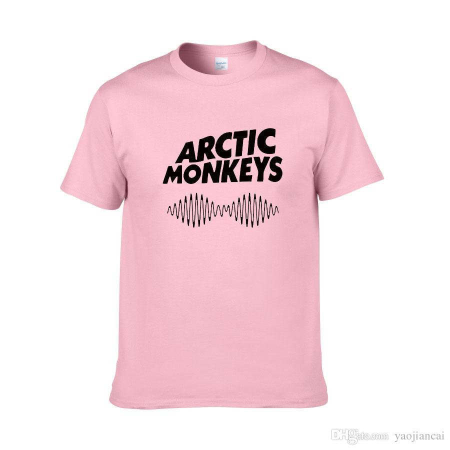 Arctic Monkeys T-shirt dos homens Indie Rock And Roll Curto Sleve O-pescoço Solto Thisrts Música Marca Verão novo Hip hop Camisas Dos Homens T