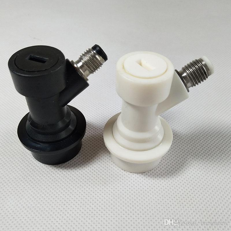 Kit Keg Ball Lock Home Brew, coupleur de verrouillage Déconnecte le jeu, gaz liquide avec filetage 1/4