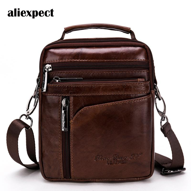 ad72877a93d Real Leather Mini Shoulder Bag Man Slanting Shoulder Bag With A Multi  Functional Han Version Of The Trendy Style Casual Hobo Purses Ladies Purses  From ...