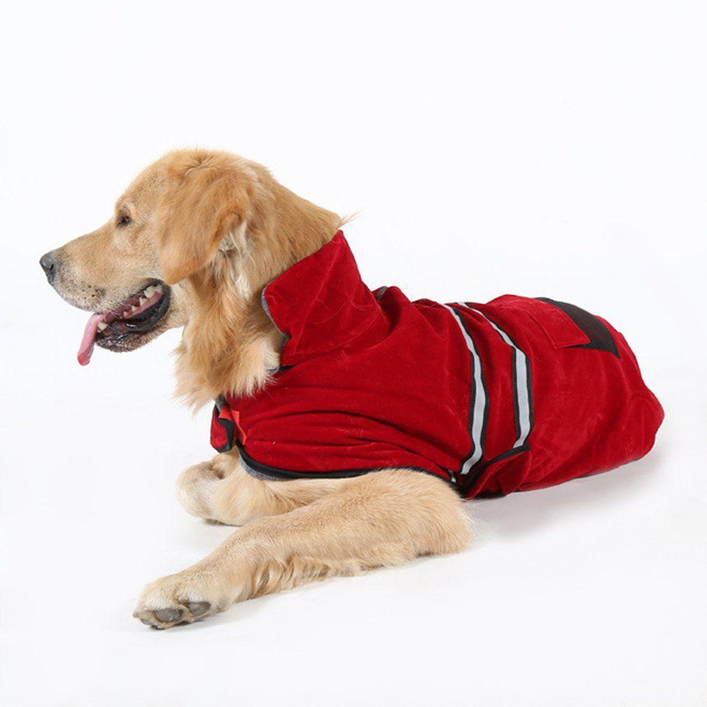 2019 Dog Clothes Warm Winter Coat Jacket Clothing With Reflective