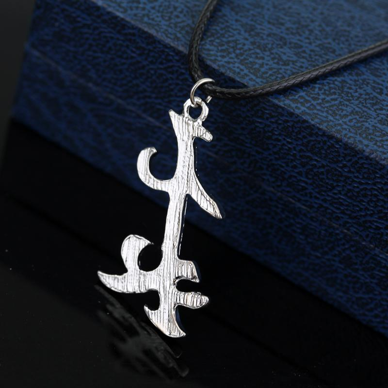 The Mortal Instruments City of Bones Necklace Rune Parabatai Friendship Pendant Necklace For Women Men Fashion Jewelry Gifts