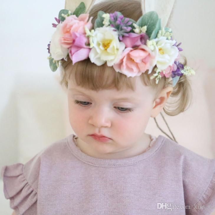 Hair Accessories Baby Accessories Nice Newborn Baby Girl Infant Crown Headband