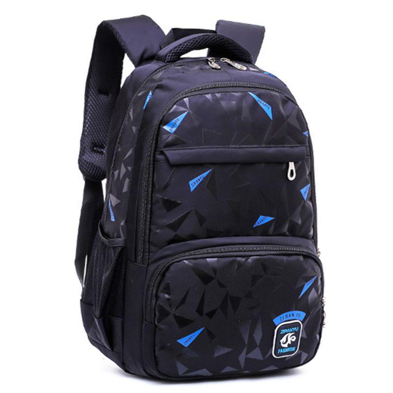 944e5c1690e0 Boys Children School Bags Orthopedic Backpack High Capacity Backpacks Boy  Girls Junior High Kids Schoolbag Waterproof Shoulder Bookbag Gym Bags For  Women ...
