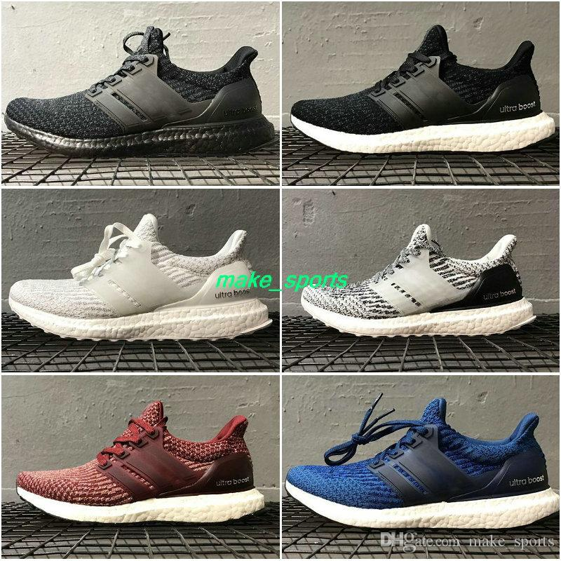 2018 NEW Arival Ultra Boost Uncaged Running Shoes Triple Red Parley Mens Womens Boosts Top Quality UltraBoost Sports Sneakers Size 36-45 limited edition online free shipping explore 2014 newest for sale vR3zoD4ibE