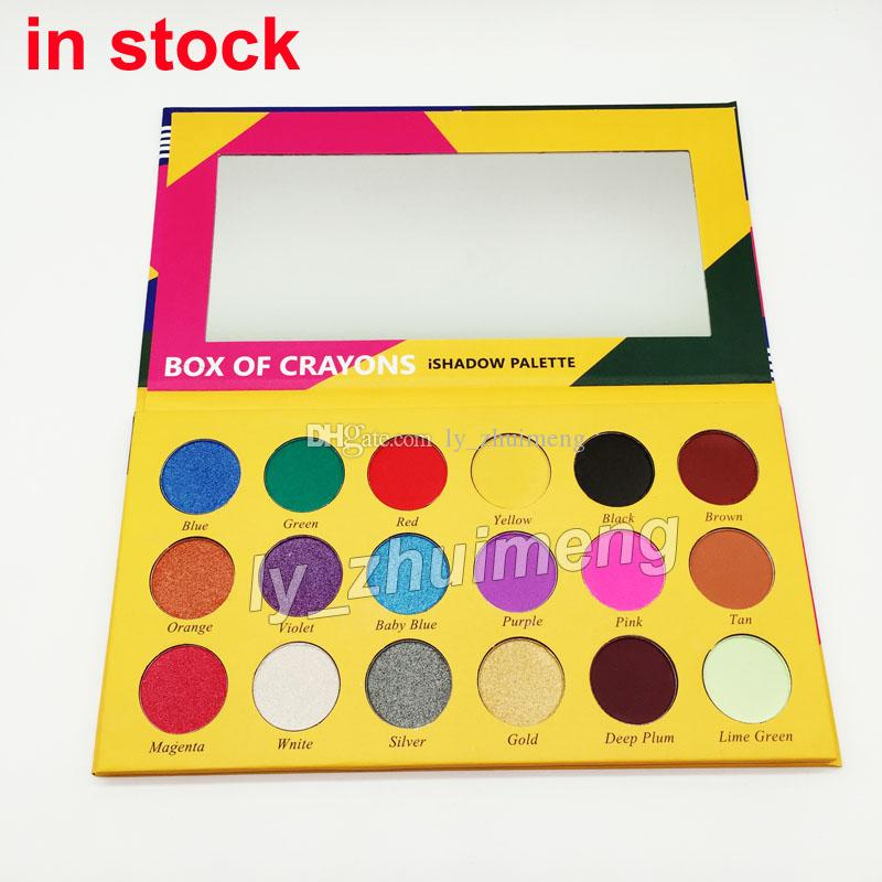 makeup palette box of crayons eye shadow ishadow palette matte