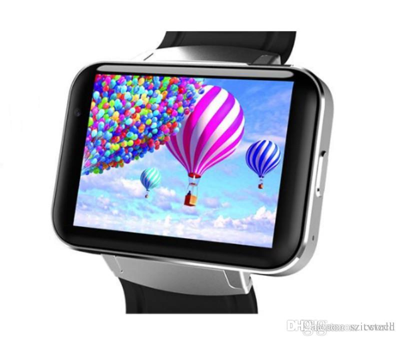 DM98 Smart watch MTK6572 1.2Ghz 2.2 inch IPS HD 900mAh Battery 512MB Ram 4GB Rom Android 3G WCDMA GPS WIFI smartwatch