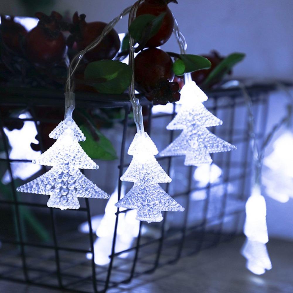8596cc4c900bbc Acheter Fil D argent De Cuivre LED Guirlande Lumineuse Éclairage De  Vacances Étanche Pour La Décoration De Fête De Noël D arbre De Noël Féerique  De  59.45 ...