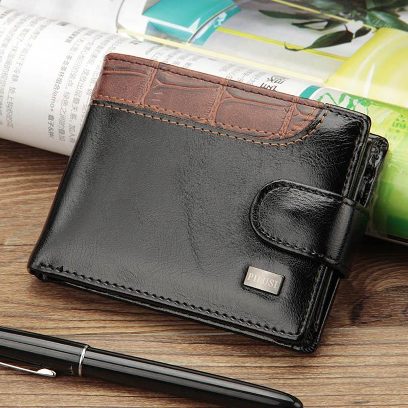 18976fbbc268 Baellerry Business Short Wallet Men Leather Hasp Men Purse With Coin Pocket Money  Bag Clutch Trifold Wallet For Wallets Man Purse My Wallet From Viceokae