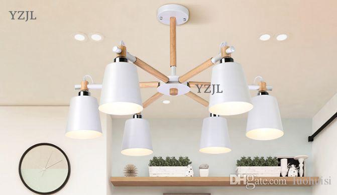 Nordic lamp Chandelier living Room restaurant bedroom modern industrial wind creative Japanese chandelier lighting fixture