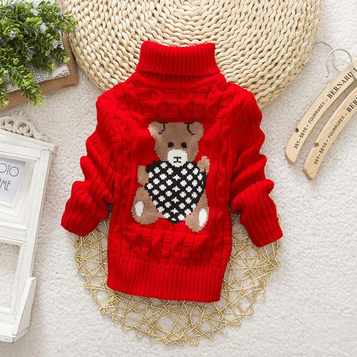 f0b74d68bf5c Hot Sale Baby Girls Boys Jumper Autumn Winter Cartoon Sweaters Kids ...