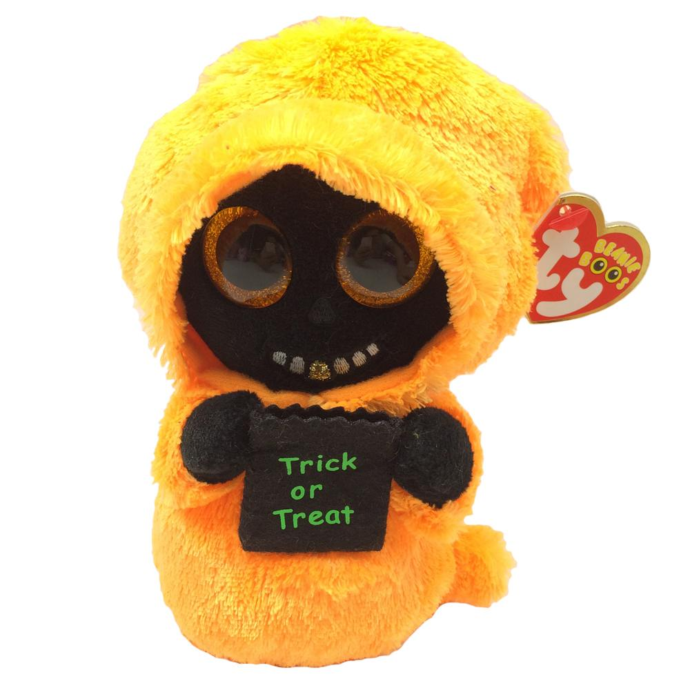 9079a6fb86e Pyoopeo Ty Beanie Boos 6 15cm Grinner The Reaper Plush Regular Soft Stuffed  Halloween Ghost Collection Doll Toy With Heart Tag UK 2019 From  Newyearable