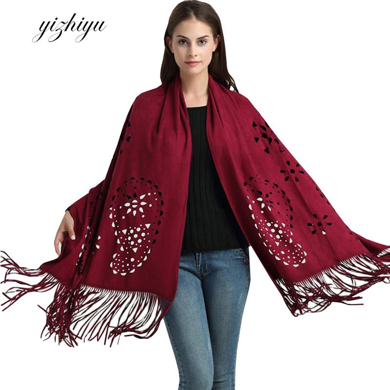 1d859ceba 2019 Vadim Autumn Winter Knitted Cardigan Shawl Women 2017 Europe America  New Gothic Fashion Leisure Scarf Woman Poncho Ukraine N27E From Balsamor