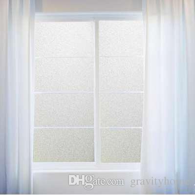 PVC-Badezimmer-Fenster-Film-Glasaufkleber-Haus-Privatleben Frosted  Frost-Abdeckung DIY Crafts Dekoration