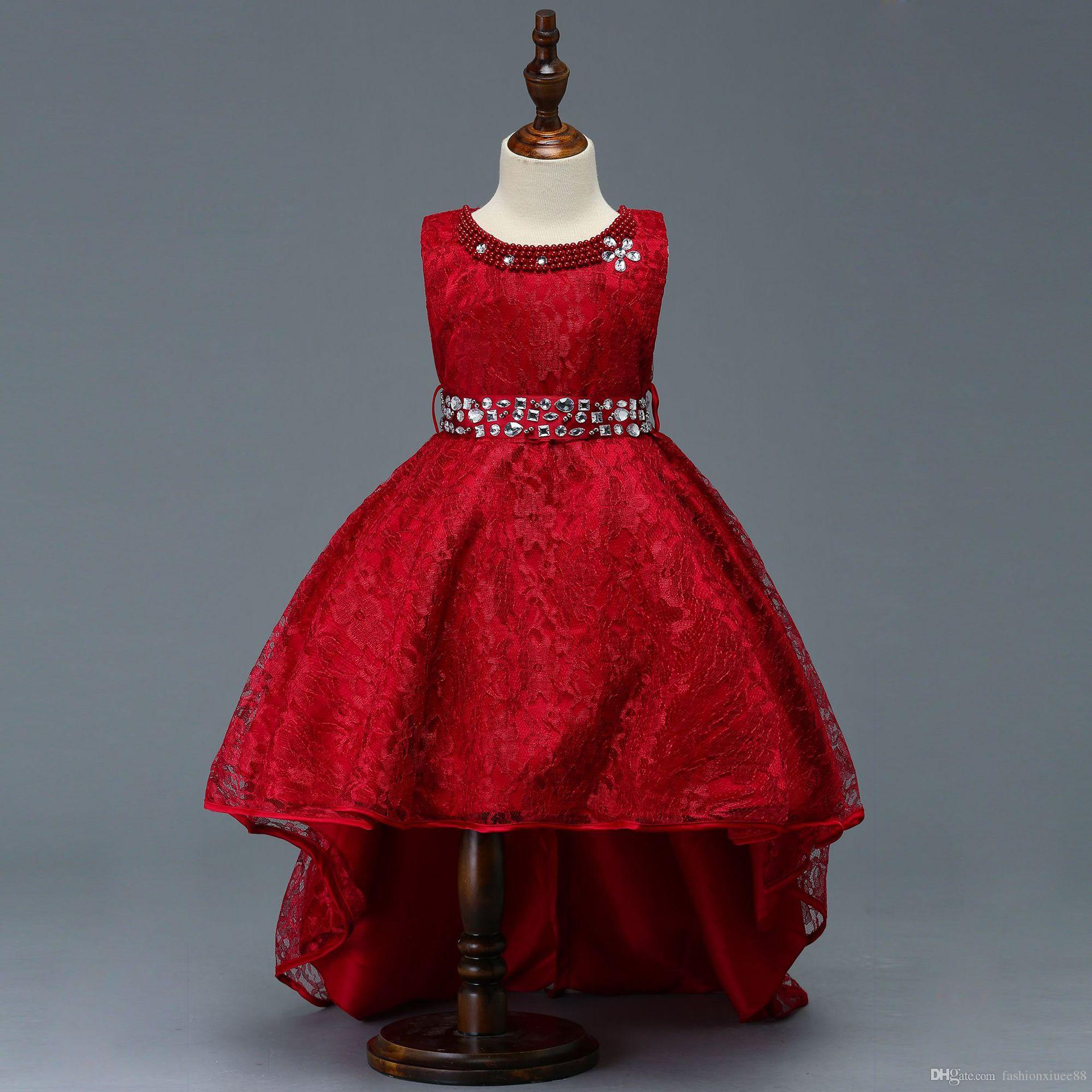 677041335cf Flower Girl Dresses Maroon Color