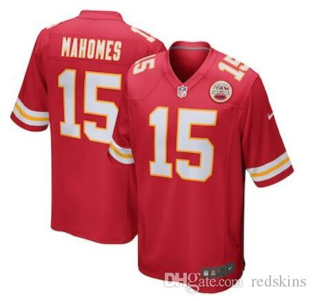 Patrick Mahomes Jersey Kansas City Chiefs Kareem Hunt Tyreek Hill ... 8b8111f2c