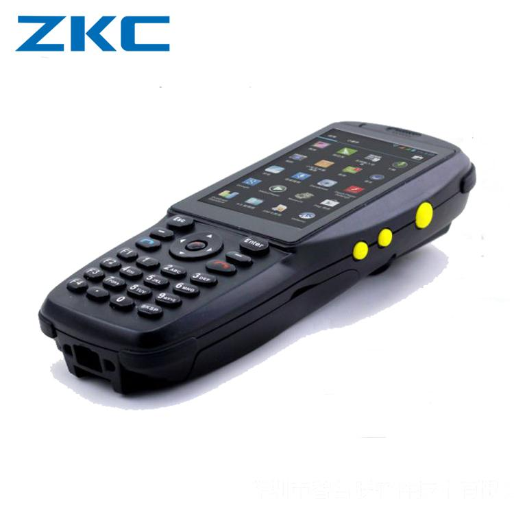 ZKC PDA Device Barcode Scanner with Display Wireless Android Handheld  Terminal Data collector with FREE SDK