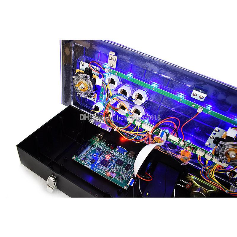 يمكن لـ Pandora 5s تخزين 1299 في 1 من المنزل jamma 2 لاعبين وحدة الألعاب البلاستيكية Arcade مع لوحة اللعبة مخرج HDMI VGA USB للتلفزيون
