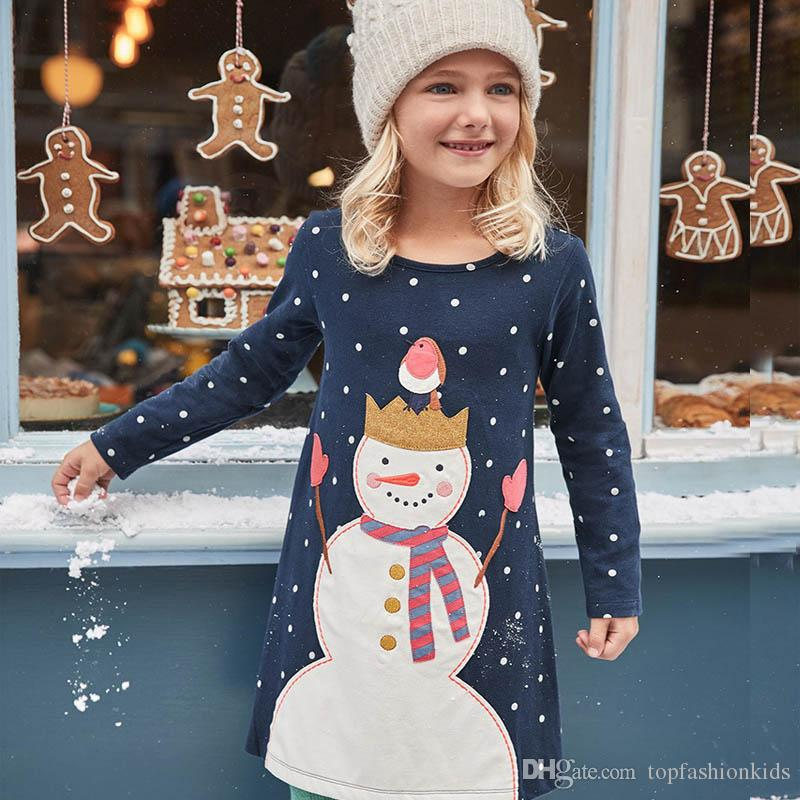 1b149a2caded1 2019 Kids Designer Clothes For Girls Clothes Spring Girls Jersey Dress A  Line Girl Party Dress Children Clothing 2 7T From Topfashionkids, $8.4 |  DHgate.Com