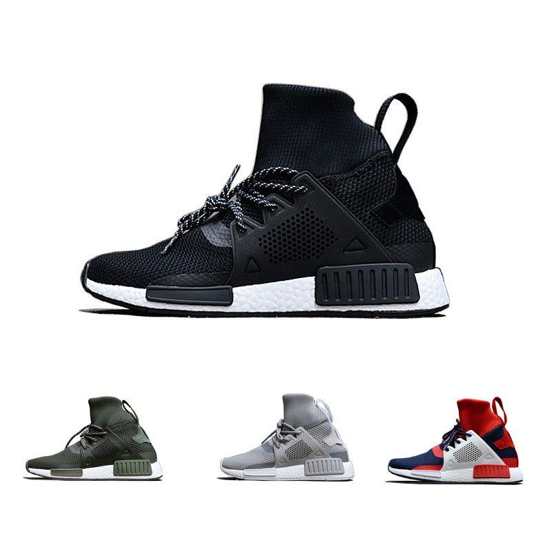 best cheap 72bc4 46d5f NMD XR1 Winter Sock Shoes Women Men black Trainings Youth Kids grey Running  shoes Sneakers Adventure Primeknit Ankle Sock Shoes Footwear