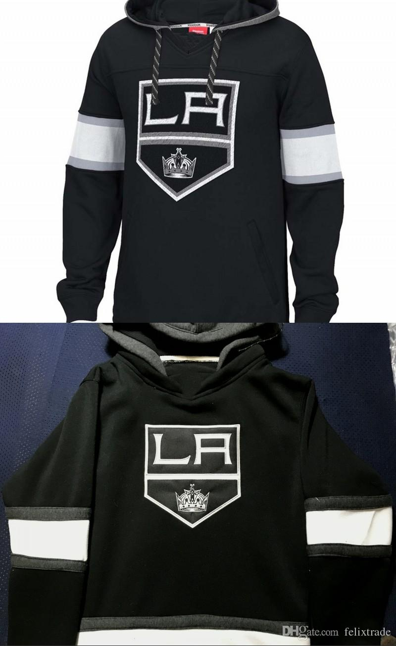 1bd759ae8c2 2019 Los Angeles Kings Hoodie 11 Anze Kopitar 8 Drew Doughty Pullover Hoodies  Sweatshirts Stiched Any Name For Men Women Youth From Felixtrade