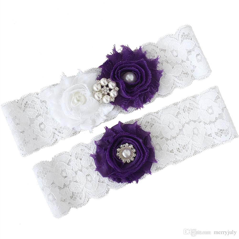 NEW light BLUE wedding bridal garter 2 pieces set toss keepsake