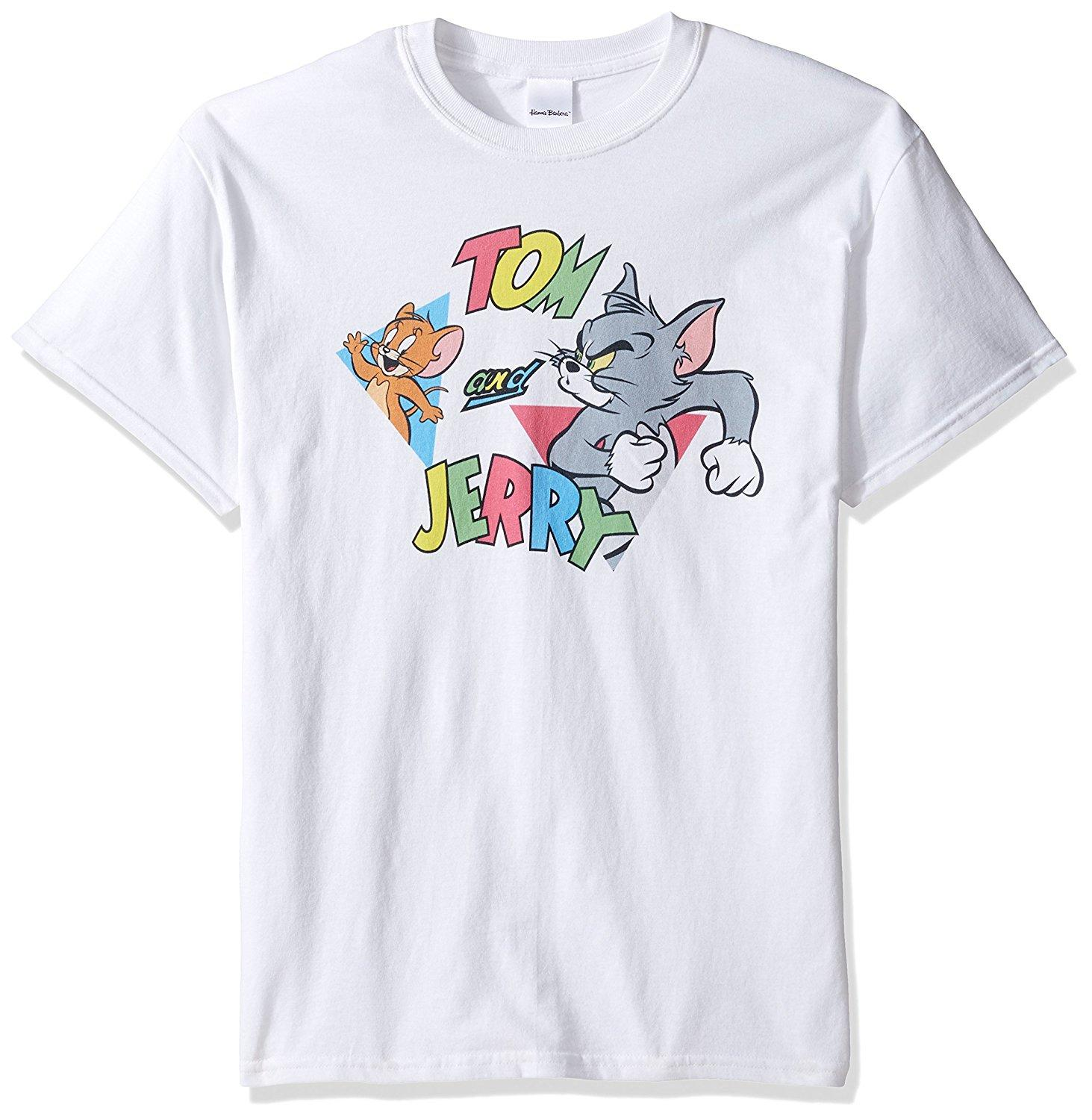 Tom and Jerry Men's Traingles T-Shirt