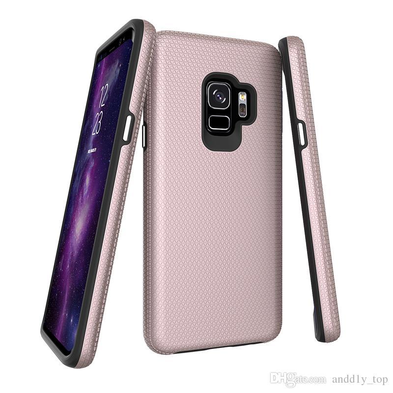 Para iphone x 8 7 6 s plus slim casos de telefone hybird capa para samsung s9 s8 xiaomi huawei celular case super boa qualidade triângulo case