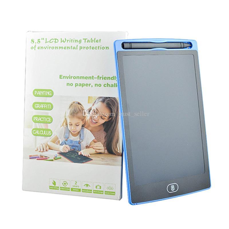 8.5 inç Yükseltildi Kalemler DHL ile Çocuk Kağıtsız Not Defteri Tabletler Memo için Yazı Tablet Çizim Tahta Tahta El Yazısı Pedleri Hediye
