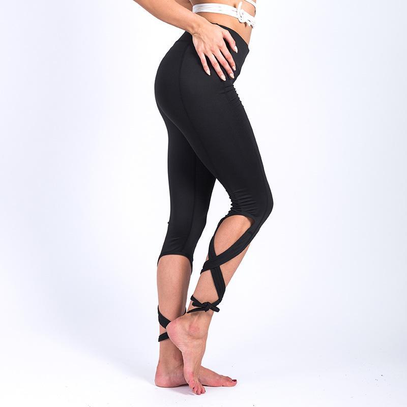 Compre Bailarina De Mujer Fitness Correr Pantalones De Yoga Legging Ropa De  Mujer Cuerda Yoga Leggings Deportivos Pantalones Deportivos HW435 A  34.14  Del ... 871958f40752