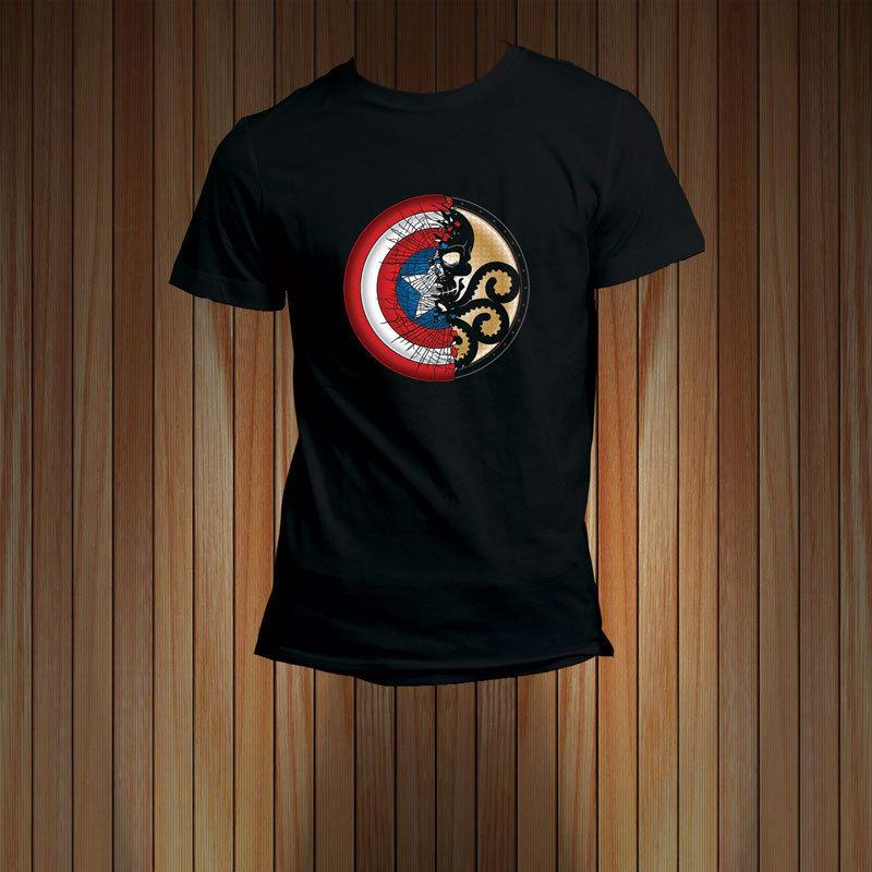 captain america hydra t shirt