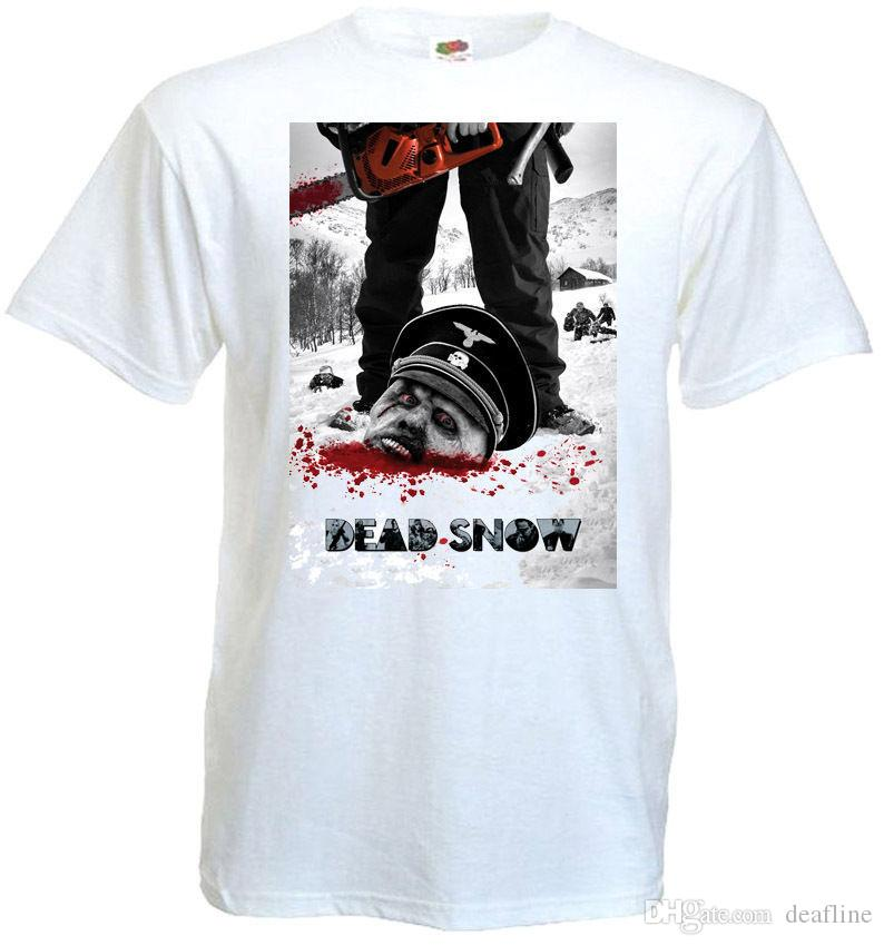 d0fcfa7f324 T Shirt Hot Sale Dead Snow V1 T Shirt White Poster All Sizes S...5XL Plus  Size Casual Clothing Vintage T Shirt Cute T Shirts From Deafline