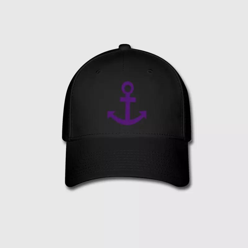 c26508926f256 Anchor Logo Embroidery Customized Handmade Sailing Sailor Sea Miami Beach  Ocean New York City Outdoors Fashion Curved Dad Hat Kangol Baseball Caps  From ...